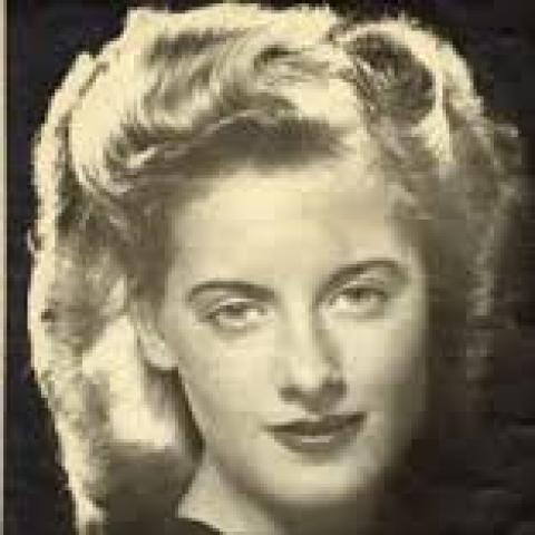 Joy Conway (stage name for Betty Hickson)