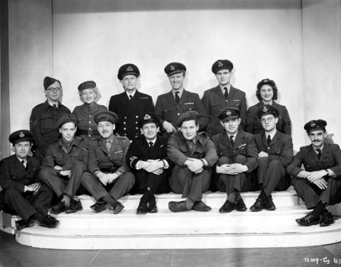 Tilly Day Photo - back row, second from left [source, Cinema Museum]