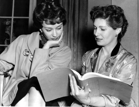 Jill Craigie Photo (right) [Source, Cinema Museum]