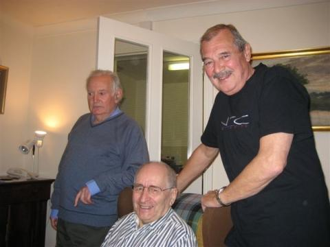 Jimmy Grant, Bernie Andrews and Bill Bebb 1st February 2007