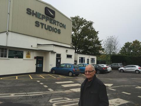 Derek Threadgall Shepperton Studios 2.11.15