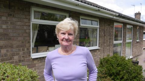 Janet Craven, Selby, 11 May 2014