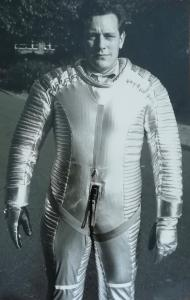 Robert Cartwright when he worked on 2001: A Space Odyssey